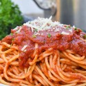 BOLOGNESE SAUCE WITH CHILLI & GARLIC