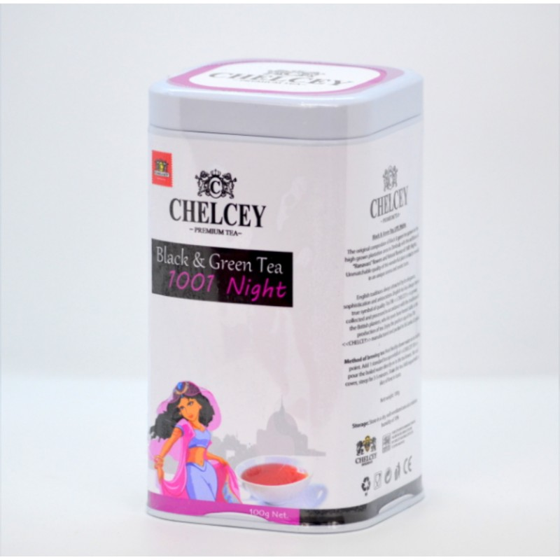 CHELCEY Black and Green Tea 1001 Nights